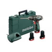 Ударная дрель-шуруповерт аккум. METABO PowerMaxx SB Basic Set (600385960)